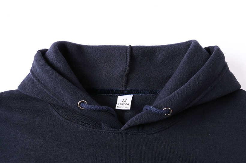 새로운 남성 브랜드 후드 티 streetwear 힙합 남성 후드와 스웨터 솔리드 네이비 퍼플 오렌지 레드 다크 그레이 블랙 화이트
