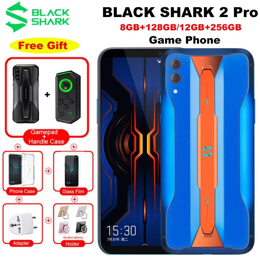 Versión Global Xiaomi negro tiburón 2 Pro LTE 4G juego teléfono 6,39
