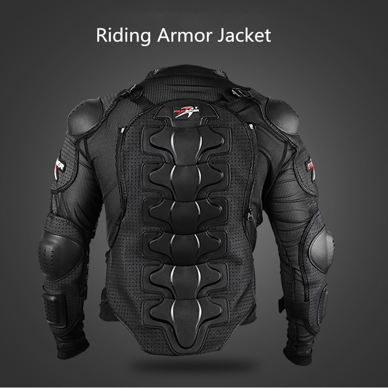 Motorcycle Racing Body Armor Motocross Jacket Off-Road Safety Protection Clothing Chest Spine Protector Gear HX-P13