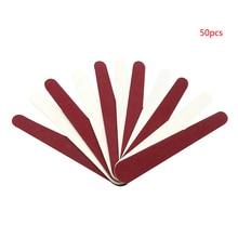 50шт мини пилочка для ногтей двойной стороны ногтей буфера салон зашкурить полировать маникюрные инструменты