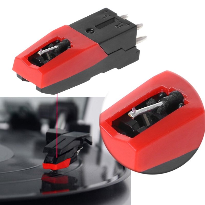 Gramophone Record Magnetic Cartridge Stylus With LP Vinyl Needle Kit Universal  PXPE