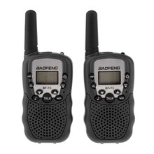 BaoFeng 2Pcs/set BF-T3 UHF462-467MHz Kids Walkie Talkie 22 Channels for Children Gift for Kids Radio Kid Walkie Talkie+Belt Clip(China)