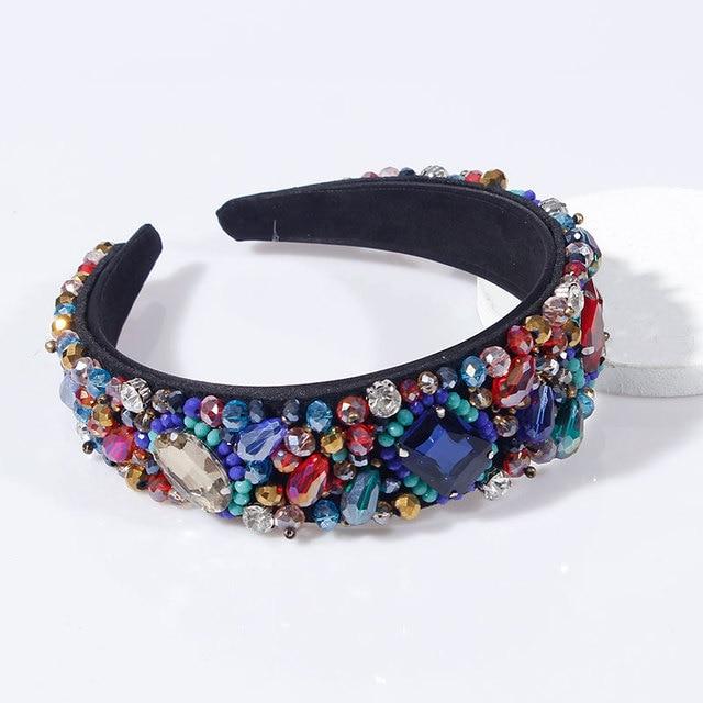 Colorful Crystal Rhinestone Headbands  4