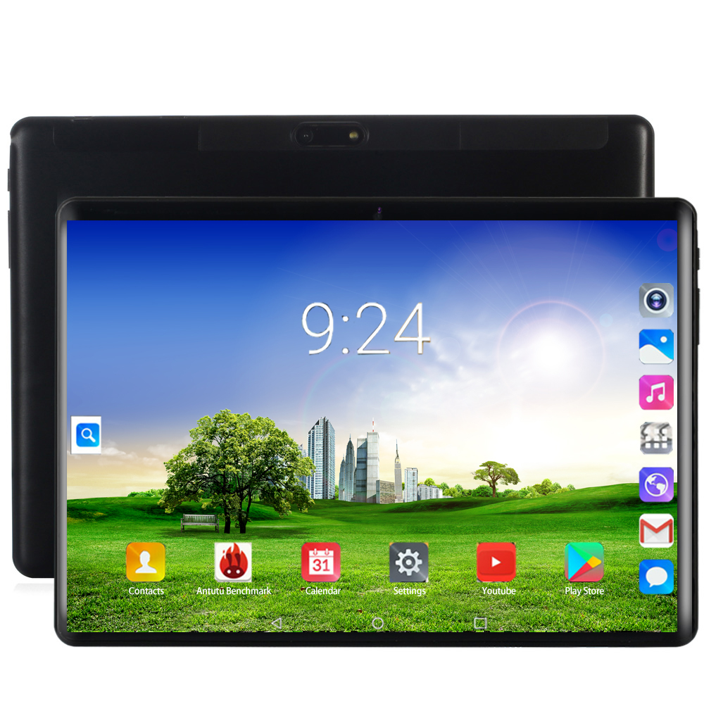 2020 Android 8.0 2.5D Screen Tablet Pcs 10.1 Inch 4G Phone Tablet PC 8 Octa Core RAM 6GB ROM 128GB Tablets 10 Kids Tablet FM GPS