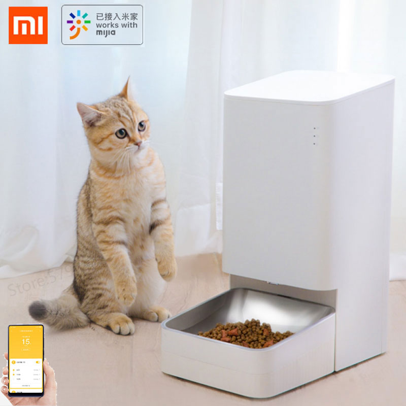 Xiaomi Mijia Xiaowan Smart Dog Cat Feeder Pots Cat Pet Food Bowl Infrared Sensor Mobile Phone Control Pet Product|Smart Remote Control| - AliExpress