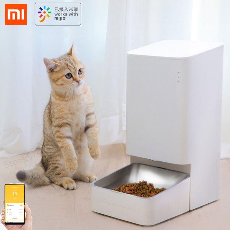 Xiaomi Mijia Xiaowan Smart Dog Cat Feeder Pots Cat Pet Food Bowl Infrared Sensor Mobile Phone Control Pet Product Smart Remote Control  - AliExpress