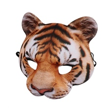 Halloween Tiger Mask White Tigers Party Cosplay Masks Horror Tigers Masque Halloween Party Decoration Carnival AccessoriesCM hanshin tigers chunichi dragons