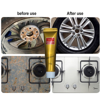 Strong Metal Polish Cream Mirror Metal Stainless Steel Ceramic Watch Polishing Paste Rust Remover Car Cleaning Clener TSLM1 image