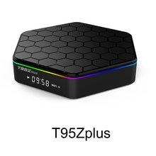 Original T95Z Plus Smart TV BOX 2GB/16GB 3GB/32GB Amlogic S912 Octa Core Android 7.1 TVBOX 2.4G/5GHz WiFi BT4.0 4K Set Top Box 10pcs m8s pro l amlogic s912 3gb 16gb 32gb android 7 1 tv box youtube 4k octa core k d 17 3 smart media player better x96 mini