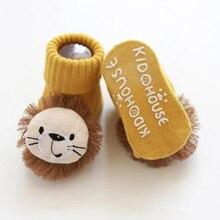 Baby Socks Spring Stuff Anti-Slip Newborn Toddlers Girls Infant Boys Kids Cartoon 3-Pairs