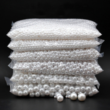 1bag Imitation ABS Pearl Loose Beads White /Beige Color 4/5/6/8/10mm For Diy Jewelry Making Handmade Material Beads Findings 9mm mix color five pearl beads sewing buttons diy material findings 100 pcs abs imitation pearls clothing package crafts