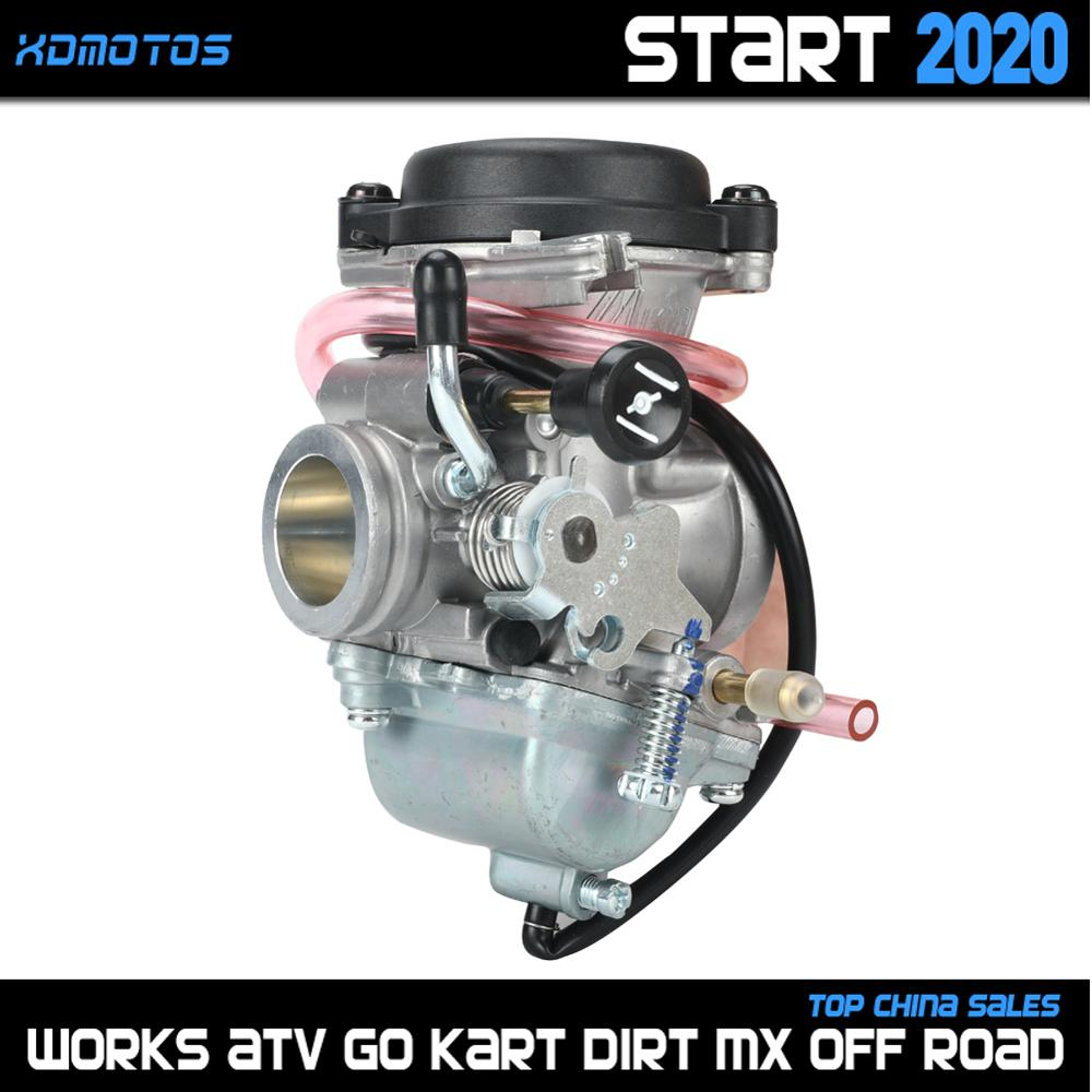 26mm Carburetor For Mikuni Suzuki EN125 125cc Engine GZ125 Marauder GN125 GS125 EN125 Motorcycle Carburador Manual Choke Carb image