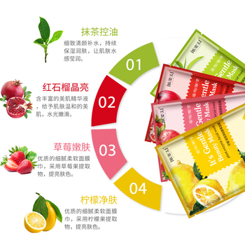 20pc Best selling Lucky bag Multiple combinations face sheet mask skin care mask for face beauty products for women Wrapped Mask