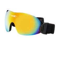 1pcs Winter Windproof Skiing Glasses Goggles Outdoor Sports Glasses Ski Goggles Dustproof Moto Cycling Sunglasses