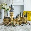 Hogwart Burg Harryed Keramik Kompatibel 71043 Bausteine Magic School Film DIY Ziegel Spielzeug Für Kinder Jungen Mädchen Kind Geschenk