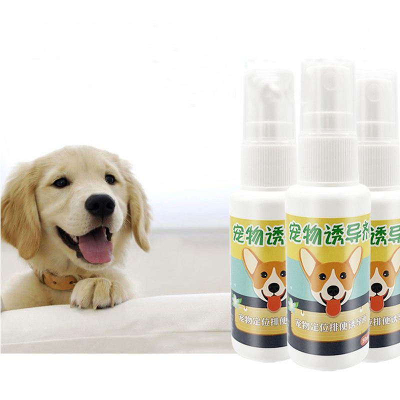 35ml Dog Toilet Training Spray Harmless Inducer Training Pet Positioning Defecation Pet Defecation Habits Dog Training
