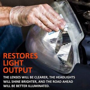 Image 2 - LUDUO, налобный фонарь, аксессуары для восстановления фар, для полировки, ремонта, ремонта, отбеливания, ремонта, осветления, с тканью