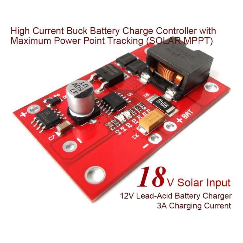 12V3A blei-säure ladegerät MPPT solar controller batterie lade modul 649A
