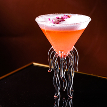 Креативный аквариум 3D Медузы молекулярное коктейльное стекло для бара ночной клуб вечерние Scaleph Осьминог Alviero мартини Винные бокалы, чашка