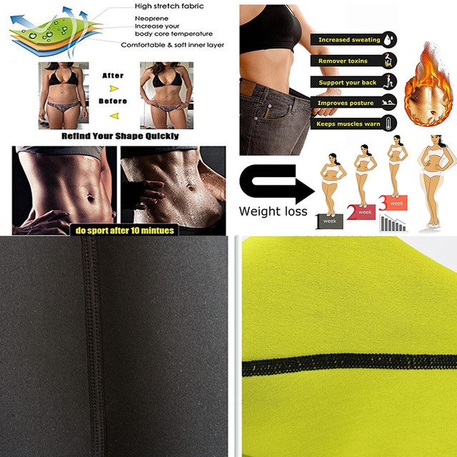 Waist Trainer Thermo Sweat Belt Waist Trimmer Girdle Corset Women Tummy Body Shaper Shapewear Fat Burning Fitness Modeling Strap 5