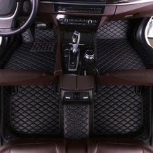 цена на Custom Car Floor Mats for Cadillac SRX 5 Seats 2010 2011 2012 2013 2014 2015 2016 Auto Accessories Car Mats No Air Outlet