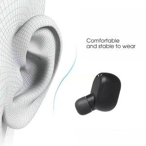 Image 5 - kebidu TWS Bluetooth Earphone 5.0 True Wireless Headphones With Mic Handsfree Earphone For xiaomi Redmi Earphone Stereo Headset