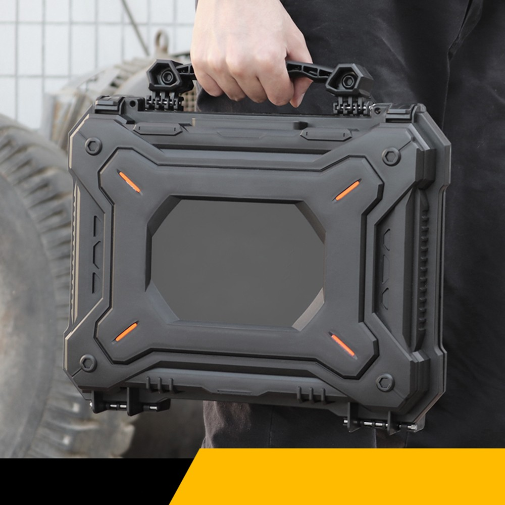 Tactical Gun Pistol Camera Protective Case Customized Foam Watertight Hard Shell Tool Storage Box Hunting Accessories