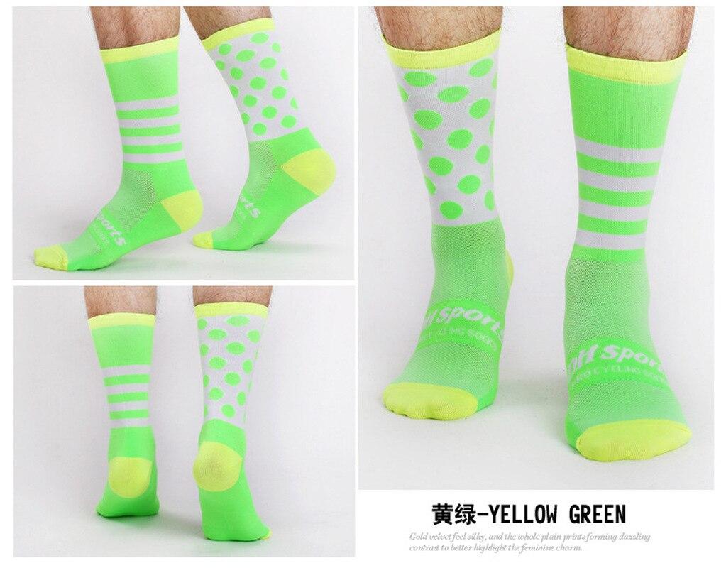 Купить с кэшбэком DH SPORTS Socks Cycling Socks New Arrival Four Seasons Long Compression Tube Bicycle Ladies Men Crossfit