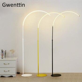 Moderne Angeln Boden Lampen für Wohnzimmer Schlafzimmer Nacht Lampe Nordic  Vertikale Led Standing Leuchten Leuchte Home Deco