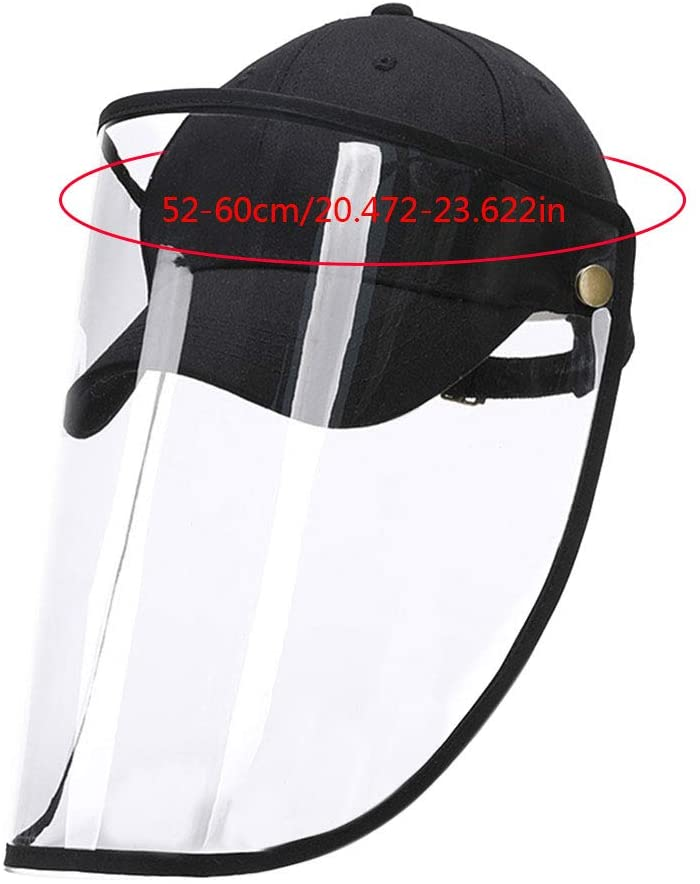 1pc/2pcs/4pcs Clear Face Cover and Face Shield Protective Hats for Full Face Protection 12