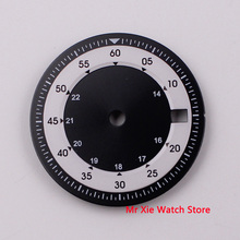 Watch BLIGER Movement Dial-Fit Miyota 8215 White DG2813 Window Zone Dual-Time