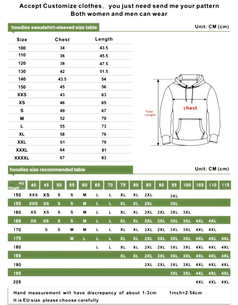 Men's Patterns Print 3D Sweaters Fashion Hoodies Sweatshirts Pullover (XXL/XXXL, 001-1lighting Wolf)