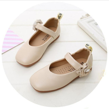 Black beige Pink Girls Shoes Kids Casual Leather for Princess For Party Wedding chaussure fille