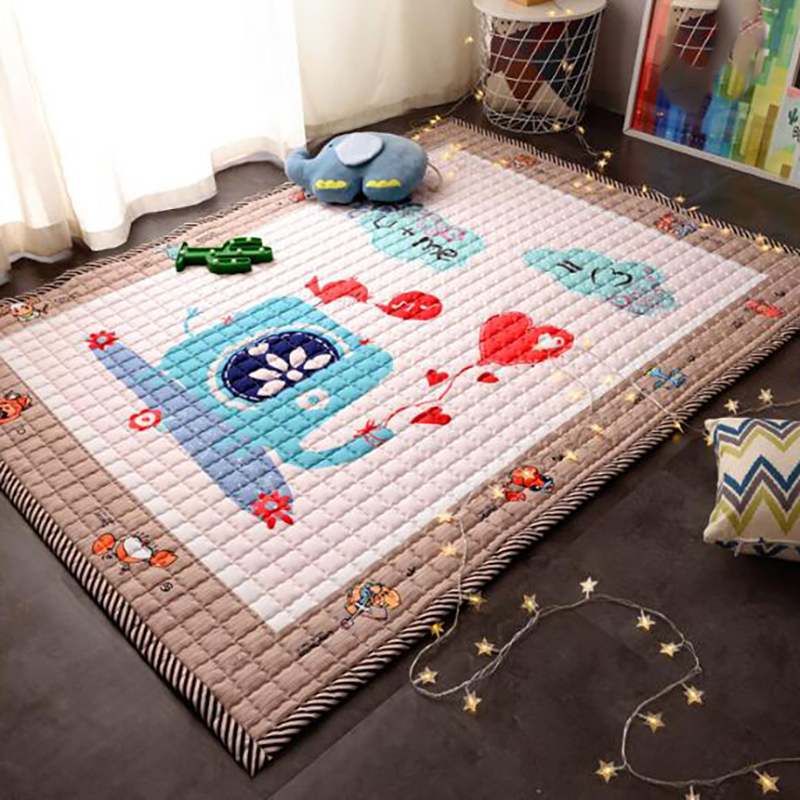 Baby Play Mat Baby Crawling Mat Animal Infant Developing Toddler Carpet Rug Activity Infant Baby Pad Room Cartoon YCQ003