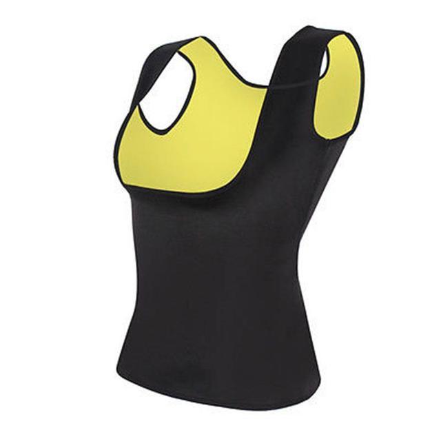 Women Slimming Belly Belt Corset Neoprene Sauna Vest Sweat Shirt Shapewear 1