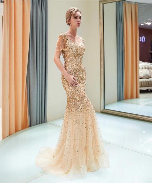 Linglewei New Spring and Summer Women's Dress sexy raglan sleeve V-Neck long dress