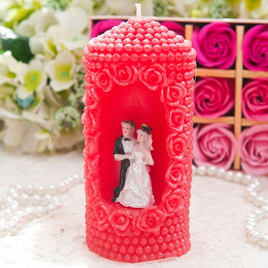 Anniversaire bougie fête cadeau bougies parfumées créatif Romance mariage décoration Velas De Cumpleanos bougie faisant des fournitures 50B27