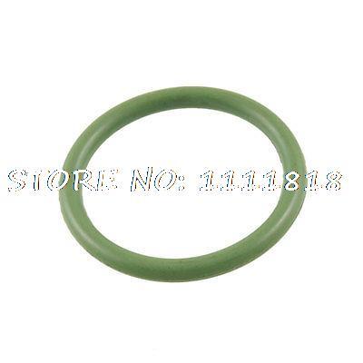 Green Fluorine Rubber O Ring Grommet 25mm X 20mm X 2.5mm