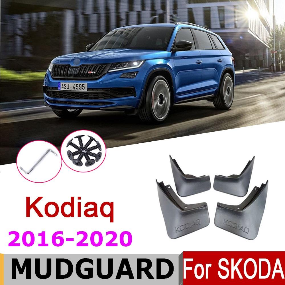 Брызговики для Skoda Kodiaq NS7 2016-2020, 2018 г., 2019 г.