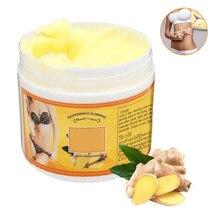 Novo 2020 gengibre gordura queima creme anti-celulite corpo inteiro emagrecimento perda de peso massagem creme venda quente