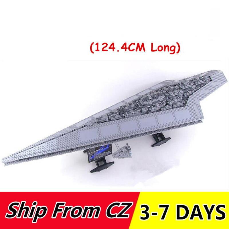 Lepinblcoks 05028 05027 Bausteine star Wars Execytor Super Star Destroyer Modell kompatibel 10221 10030 spielzeug Ziegel