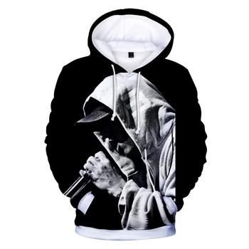 Hot Rapper EMINEM 3D Hoodies Sweatshirts Men/women Autumn Fashion Hip Hop Casual Print Mens Hoodie