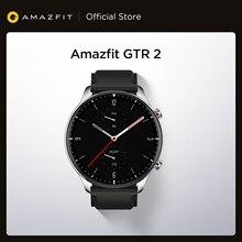 Оригинальный Amazfit GTR 2 Smartwatch 326ppi Дисплей музыки 14 дней Срок службы батареи Мониторинг сна Смарт часы для телефонов на Android iOS
