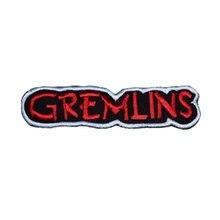Autocollant brodé avec le Logo Gremlins, 4.95 pouces, à repasser et à coudre, bande Gizmo Mohawk Mogwai 2, affiche de film Daffy