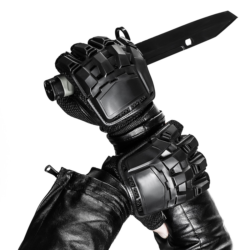 Tactical Half Finger Gloves Men Military Army Training Combat Airsoft Paintball