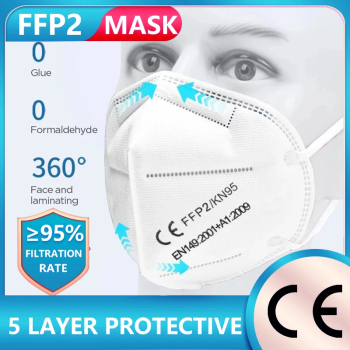 100 Pieces KN95 FFP2 Mask kn95 Fliter Safety Dust  FPP2 KN95 Mask Respirator N95 Mask Face Dustproof Protective Mascarillas недорого