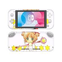 Couverture de décalcomanie dautocollant de peau de commutateur de carte Sakura NintendoSwitch pour le protecteur de Lite de commutateur de Nintendo