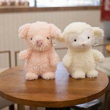 20/30CM Cute Owl/Chicken/Pig/Rabbit/Sheep Forest Animal Plush Toys Baby Sleeping Animal Dolls Child's Birthday Gifts