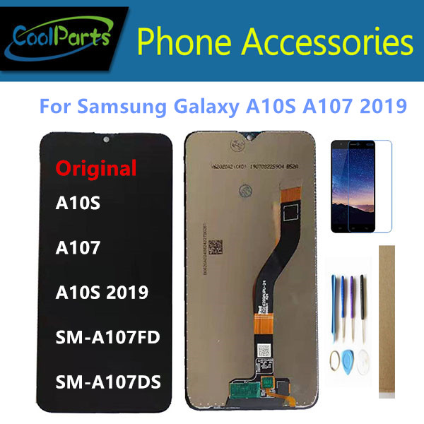 Original 6.2 For Samsung Galaxy A10S A10S 2019 A107 SM-A107FD SM-A107DS LCD Display + Touch Screen Sensor Digitizer +Frame +Kit image
