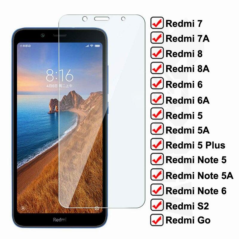Противоударное закаленное стекло для Xiaomi Redmi 7A 7 8 8A 6 6A S2 Go защита экрана на Redmi 5 Plus Note 5 5A 6 Pro защитное стекло